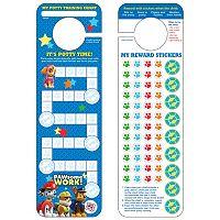 Paw Patrol Potty Training Chart & Stickers