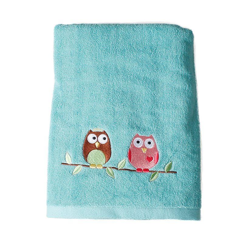 Saturday Knight, Ltd. Owl Bath Towel