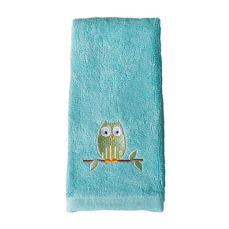 Saturday Knight, Ltd. Owl Fingertip Towel