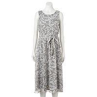 Women's MSK Scroll Midi Dress