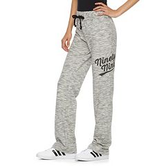 Juniors Pittsburgh Steelers Heather Gray Jogger Sweatpants