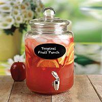 Circleware Wellington 1.5-Gallon Chalkboard Beverage Dispenser