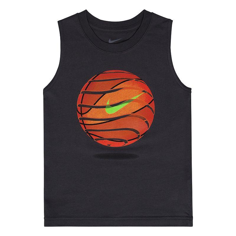 Boys 4-7 Nike Basketball Muscle Tee