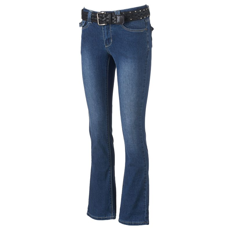 Women's Angels Faded Bootcut Jeans