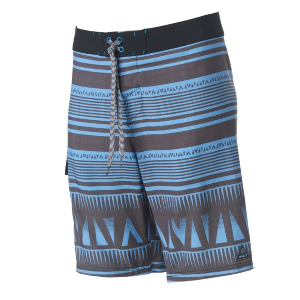 Men's Trinity Collective Modern-Fit Striped Cargo Board Shorts