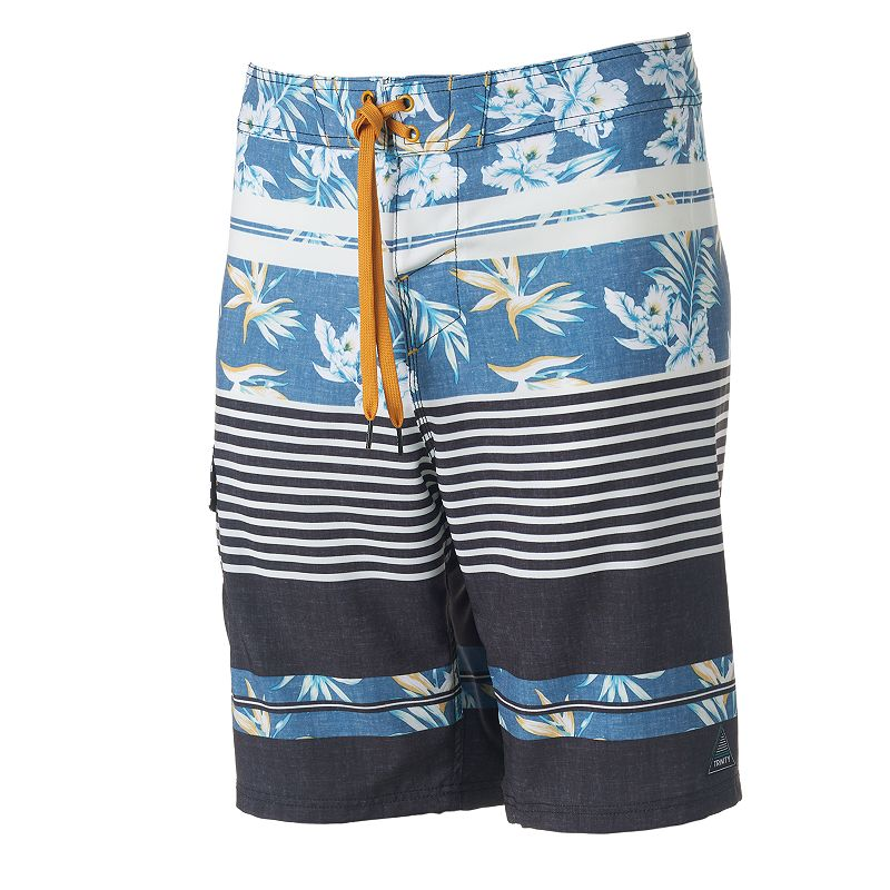 Men's Trinity Collective Modern-Fit Colorblock Cargo Board Shorts