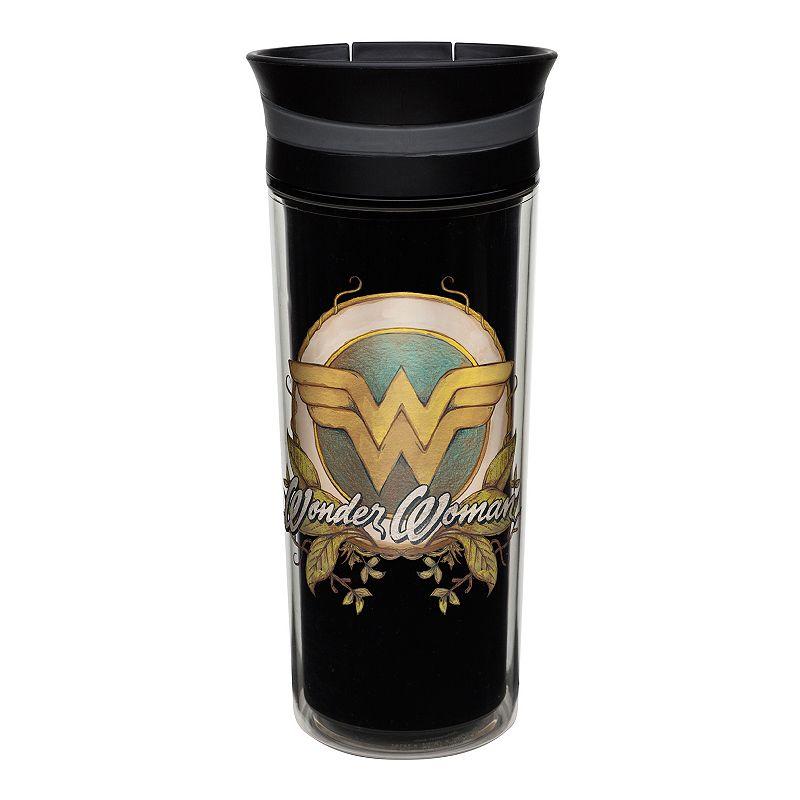 DC Comics Wonder Woman Retro 16-oz. Tumbler by Zak Designs
