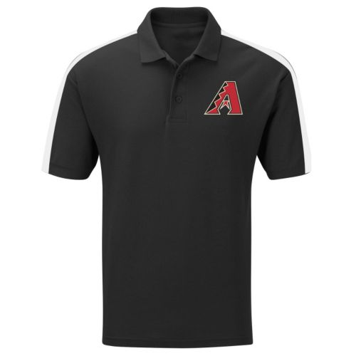 Big & Tall Majestic Arizona Diamondbacks Colorblock Polo
