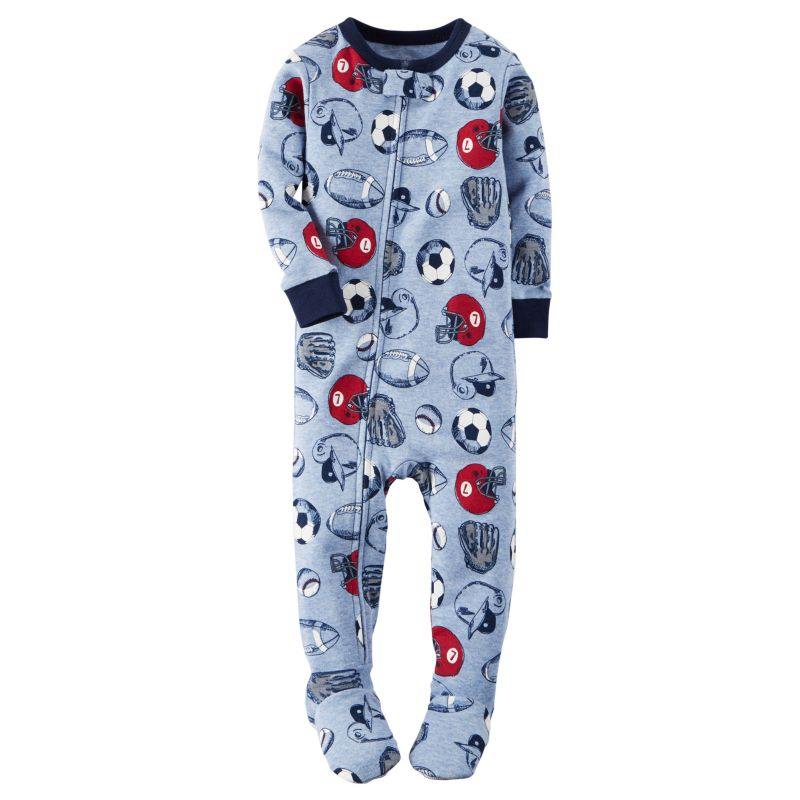 Baby Boy Carter's Sports Sleep & Play, Size: 12 Months, Blue