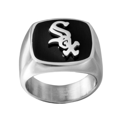 Men's Stainless Steel Chicago White Sox Ring
