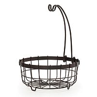 Mikasa Gourmet Basics General Store Centerpiece Basket