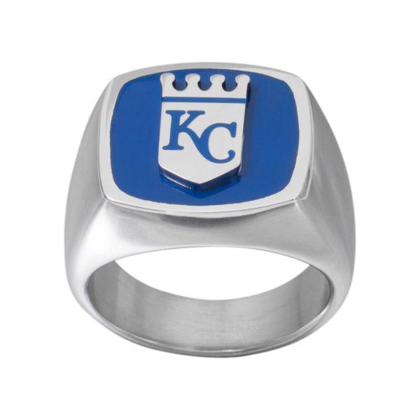 Men's Stainless Steel Kansas City Royals Ring