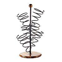 Mikasa Gourmet Basics 6-Bottle Spiral Wine Rack