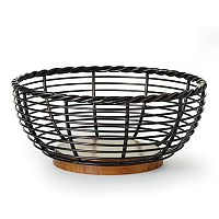 Mikasa Gourmet Basics Rope Fruit Basket