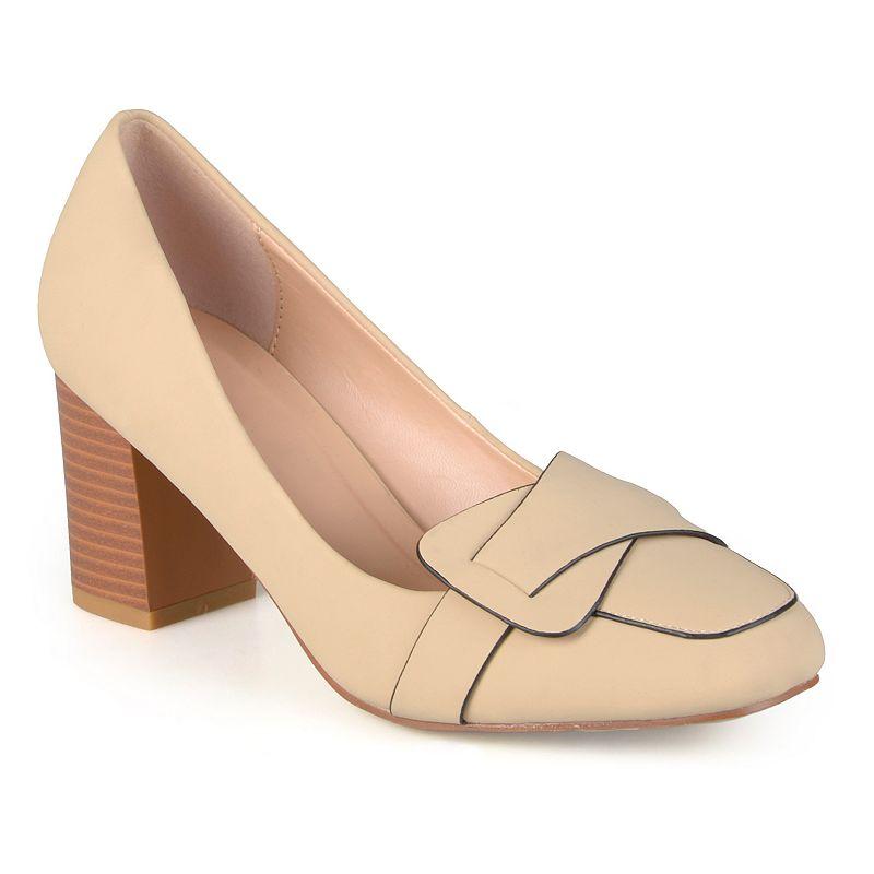 Journee Collection Cass Women's Loafer High Heels