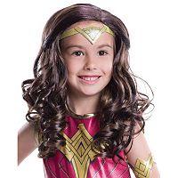 Kids Batman v Superman: Dawn of Justice Wonder Woman Wig
