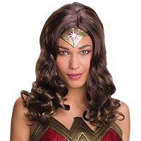 Adult Batman v Superman: Dawn of Justice Wonder Woman Wig
