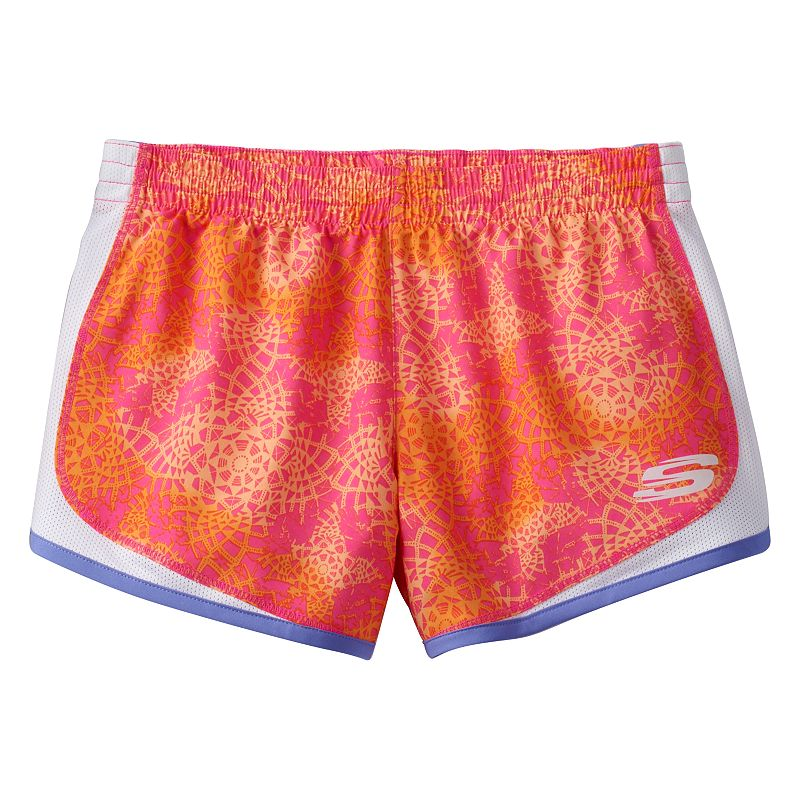 Girls 7-16 Skechers Go Woven Running Shorts