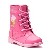 Peppa Pig Toddler Girls' Combat Boots