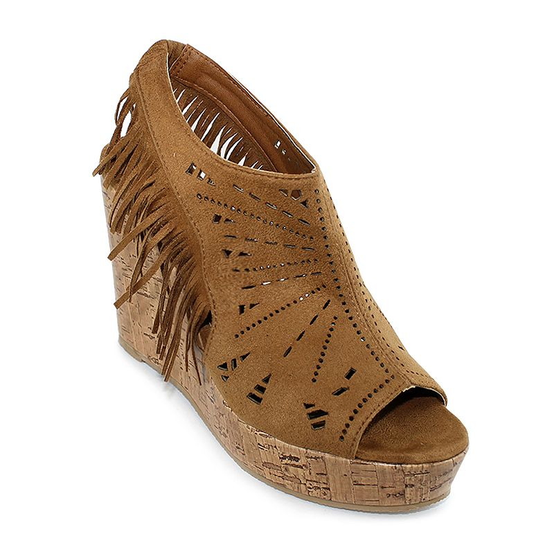 Olivia Miller Odessa Women's Wedge Sandals