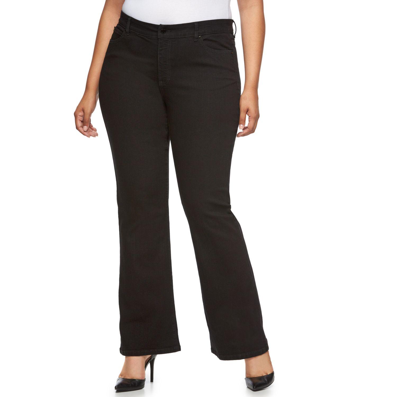 Plus Size Jennifer Lopez Bootcut Jeans