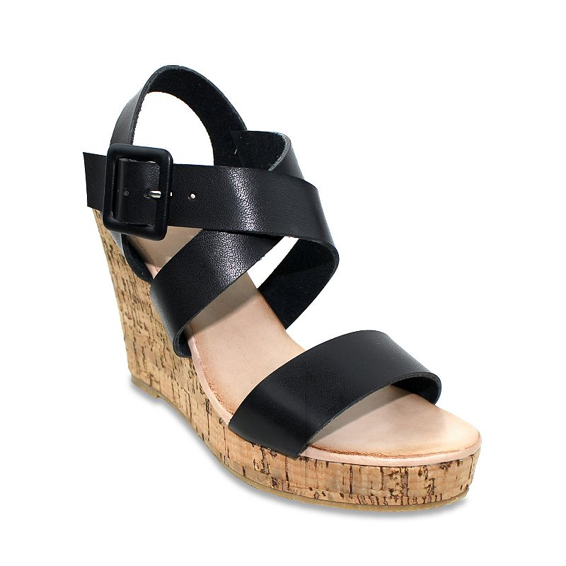 Olivia Miller Valencia Women's Wedge Sandals