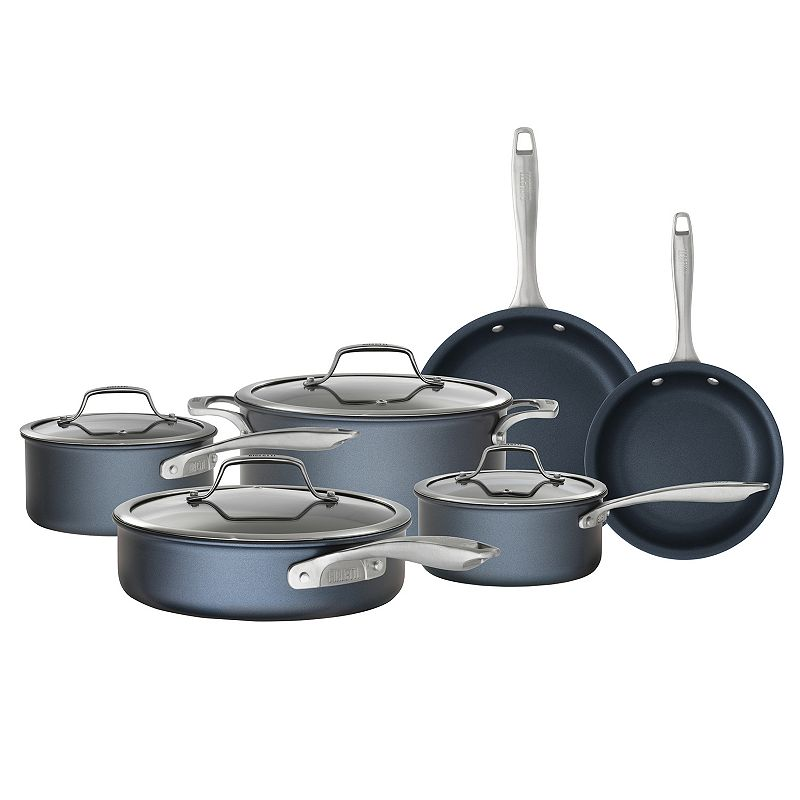 Bialetti Sapphire 10-pc. Nonstick Cookware Set