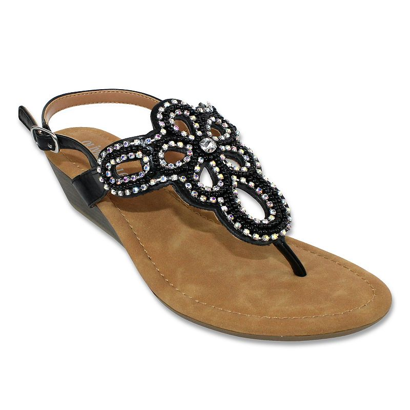 Olivia Miller Athens Women's Wedge Sandals