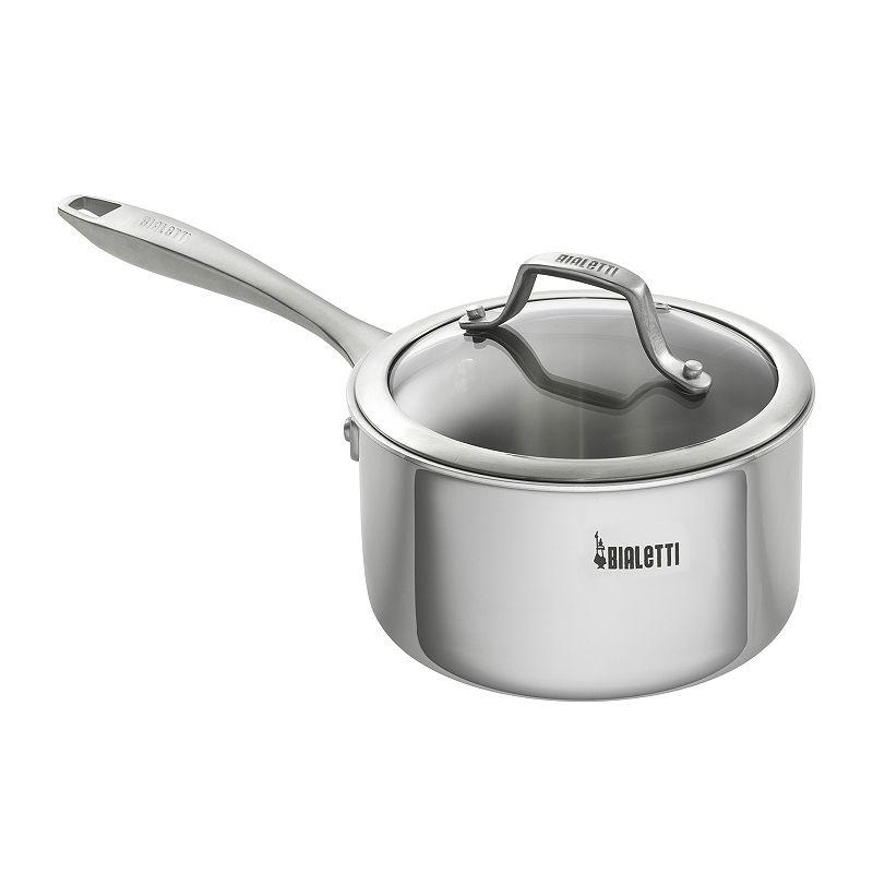 Bialetti Triply 2-qt. Nonstick Sauce Pan