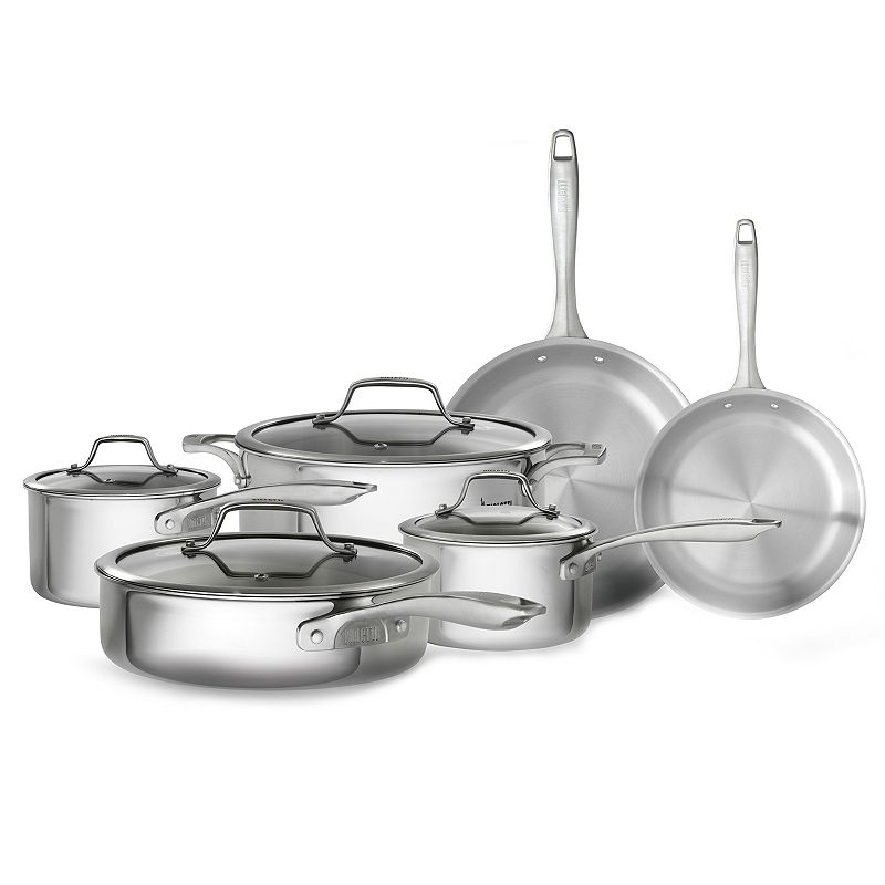 Bialetti Triply 10-pc. Nonstick Cookware Set