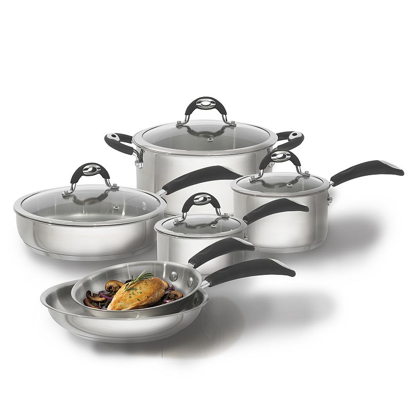 Bialetti Xpert 10-pc. Nonstick Cookware Set