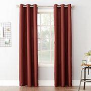 No918 Montego Curtain, Orange