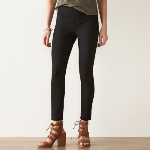 Petite SONOMA Goods for Life™ Pull-On Skinny Jeans