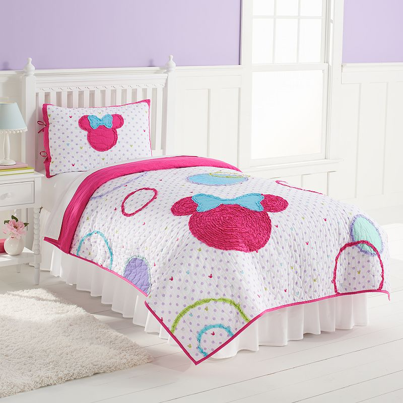 Disney's Minnie Mouse Quilt Set by Jumping Beans®