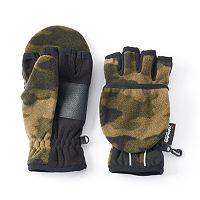 Boys Tek Gear® WarmTek Convertible Flip-Top Mittens