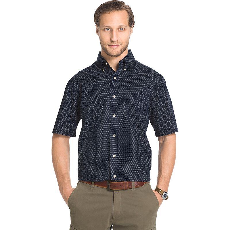 Men's Arrow Sea Jack Classic-Fit Plaid Seersucker Button-Down Shirt