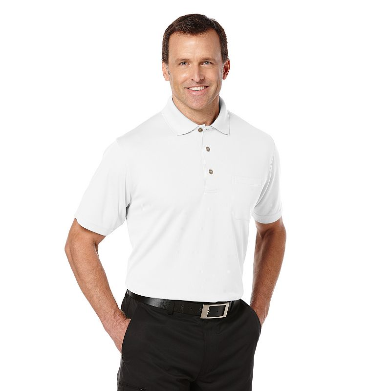 Men's Grand Slam Airflow Pocket Performance Golf Polo