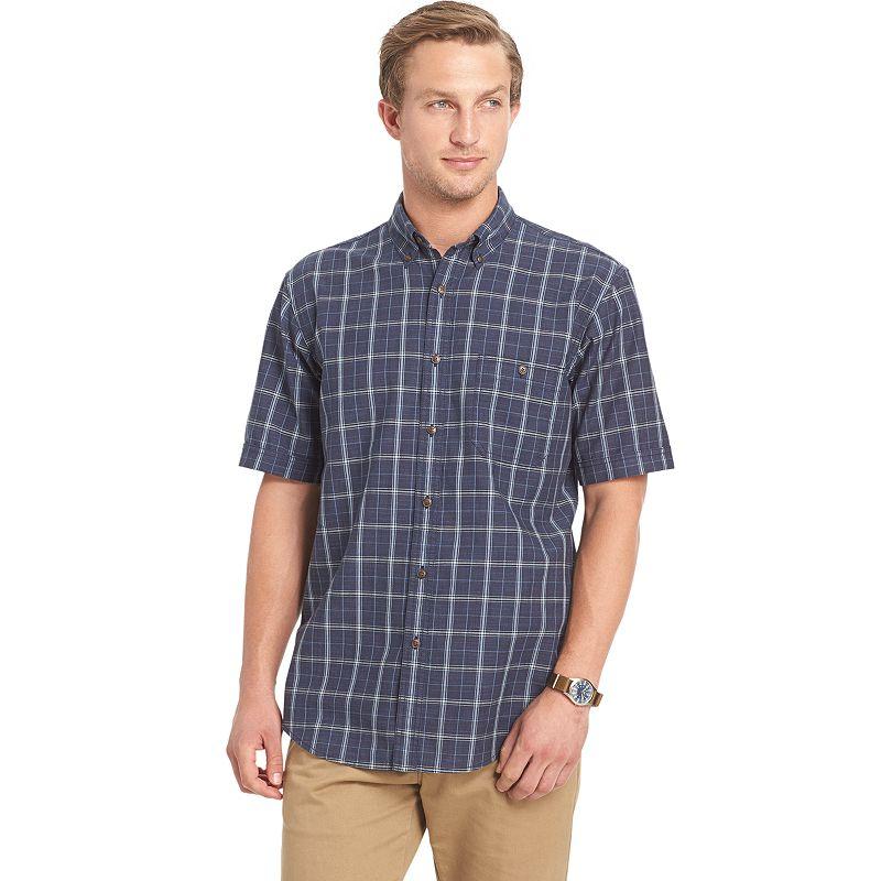 Big & Tall Arrow Seaside Textured Button-Down Shirt