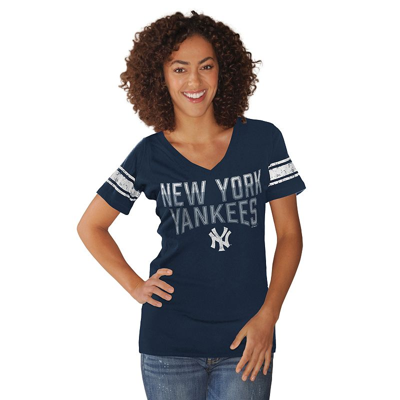 Women's New York Yankees Knit Tee