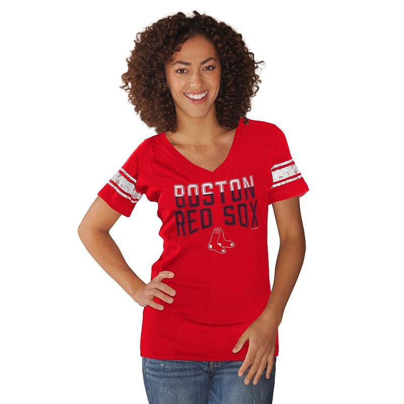Women's Boston Red Sox Knit Tee