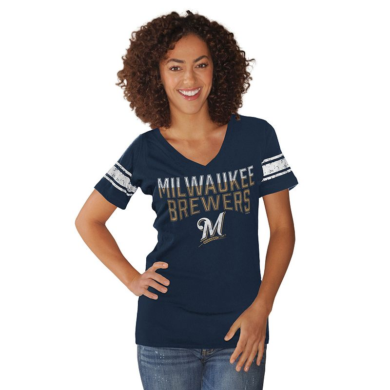 Women's Milwaukee Brewers Knit Tee