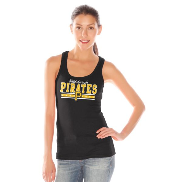 Women's Pittsburgh Pirates Knit Tank Top