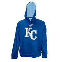 Men's Stitches Kansas City Royals Embossed Performance Fleece Hoodie