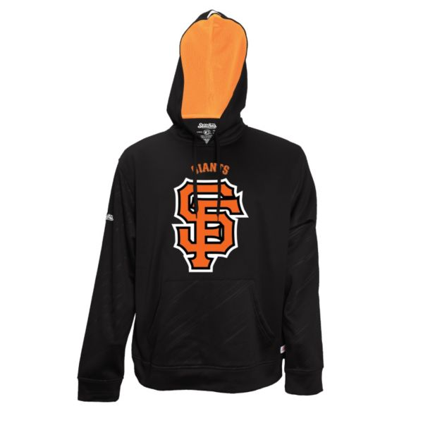 Men's Stitches San Francisco Giants Embossed Performance Fleece Hoodie