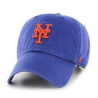 Adult '47 Brand New York Mets Road Clean Up Cap