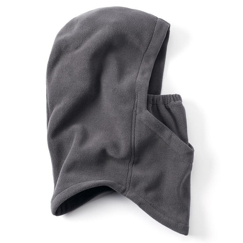 Boys Tek Gear 4-in-1 WarmTek Microfleece Hood, Boy's, Med Grey