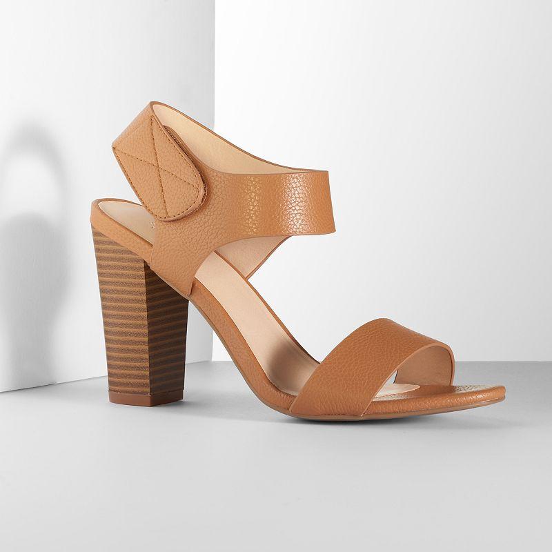 Simply Vera Vera Wang Women's Block-Heel Sandals