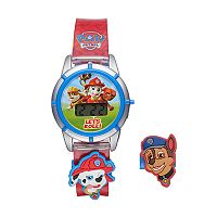 Paw Patrol Kids' Digital Chase & Marshall Charm Watch