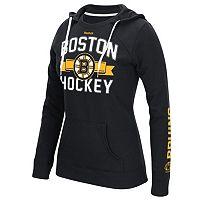 Women's Reebok Boston Bruins Banner Arch Hoodie