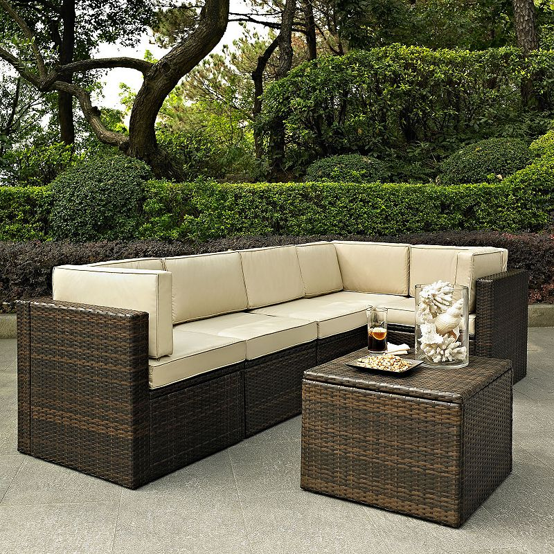Palm Harbor Faux Wicker Seating 6-piece Set
